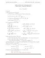 Đề cương ôn tập học kỳ 1 môn toán 9 năm học 2012 2013