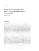 Intellectual Property Rights in CAFTADR and Pharmaceuticals in Costa Rica