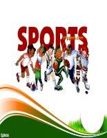 sports vocab