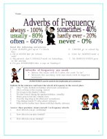612 frequency adverbs