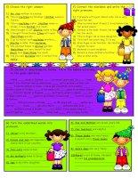 10518 subjectobject pronounspossessive adjectives 2
