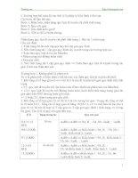 Bài tập ôn thi HSG môn sinh lớp 9