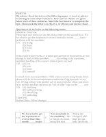 TOEIC PART 5  tiet 2