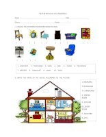 27692 parts of the house and prepositions