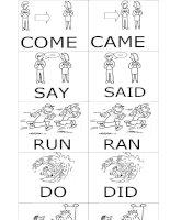 4328 simple past verbs