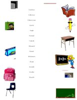 10498 school objects