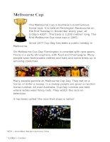 12321 melbourne cup
