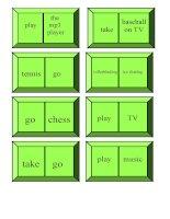 5321 freetime activities dominoes