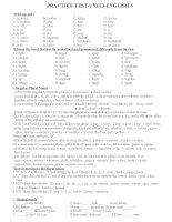 Bài tập unit 3 lớp 6