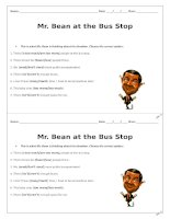 44959 video worksheet mr bean at the bus stop