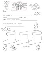 islcollective worksheets beginner prea1 kindergarten elementary school writing christmas activity  games templ letter to 1762236224548068a051e1f3 62603338