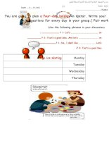 24842 a four day holiday plan