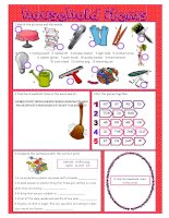 62087 household items vocabulary exercises