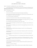 Hiệp định Đối tác xuyên Thái Bình Dương TPP Chương 27 quy định hành chính và thể chế