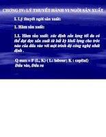 BÀI GIẢNG lý THUYẾT HÀNH VI của NGƯỜI sản XUẤT   tài LIỆU , EBOOKS, LUẬN văn