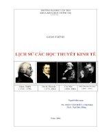Giáo trình lịch sử các học thuyết kinh tế