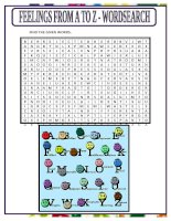 11681 feelings from a to z