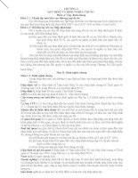 Hiệp định Đối tác xuyên Thái Bình Dương TPP  Chương 1