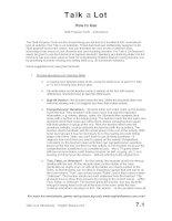 multi purpose texts instructions