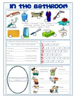 60842 bathroom vocabulary exercises