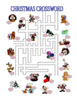 14214 christmas crossword  key