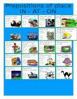 13674 prepositions of place