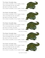 27547 the clever crocodile song