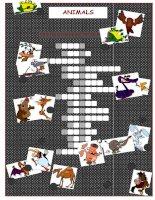 26759 animals crossword puzzle