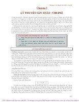 GIÁO TRÌNH KINH tế học VI mô (PHẦN 2)
