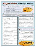 islcollective worksheets preintermediate a2 intermediate b1 adults high school reading speaking adjectives prepositions  4781573354edd2853a3a64 28372286