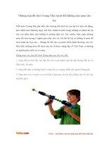 Những loại đồ chơi Trung Thu tuyệt đối không nên mua cho trẻ