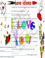 2962 love idioms