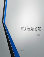 VBA for AutoCAD
