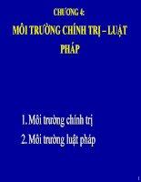chuong 4 moi truong chinh tri luat phap