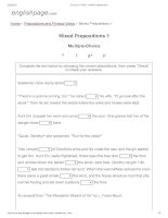 ENGLISH PAGE   mixed prepositions 1
