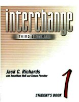 Interchange 1 3rd ed  student