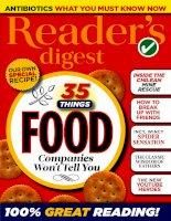 Readers digest international september 2015