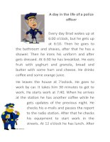55359 a day in the life of a police officer