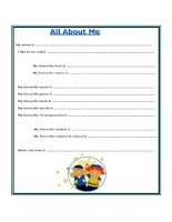 All about me   5   VDS