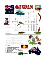 197 australia  crossword 1