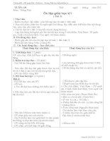 Giáo án môn tiếng việt lớp 5 tuần 10