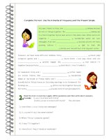 islcollective worksheets preintermediate a2 adults elementary school high school reading adverbs of frequency present si 13259789195536bf8374b4e9 45405449