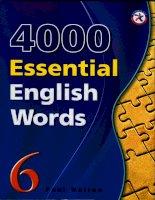 4000 từ VỰNG TIẾNG ANH   QUYỂN 6