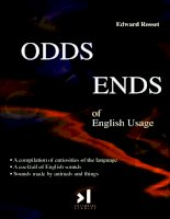 Odds   ends of english usage