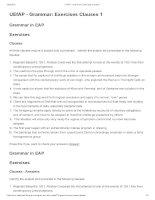 UEfAP   grammar  exercises clauses 1