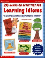 20 hands on activities for learning idioms g3 6