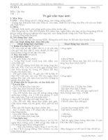 Giáo án môn tiếng việt lớp 5 tuần 1