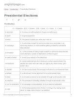 ENGLISH PAGE   presidential elections