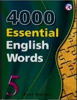 4000 từ vựng tiếng anh quyển 5