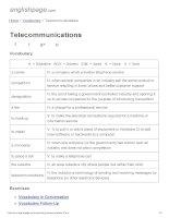 ENGLISH PAGE   telecommunications